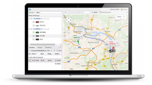 GPS-Tracking von TrackBase